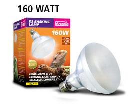 Arcadia D3 UV basking lamp - 160W